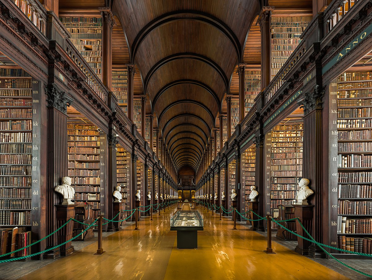 The Book of Kells (Trinity College), Dublin, Ireland